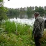 Witterung zur Ente aufgenommen