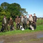 Gruppenbild Hunde, Führer und Richter