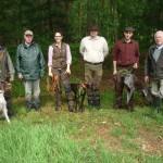 Gruppenfoto Hundeführer und Richter